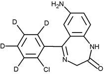 7-Aminoclonazepam-D<sub>4</sub> (1.0 mg/mL in Acetonitrile)