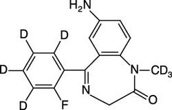 7-Aminoflunitrazepam-D<sub>7</sub> (1.0 ug/mL in Acetonitrile)