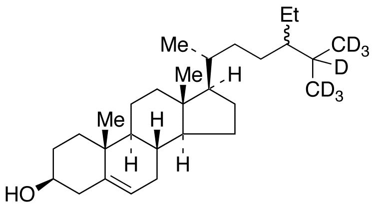 Sitosterol-25,26,26,26,27,27,27-d<sub>7</sub>