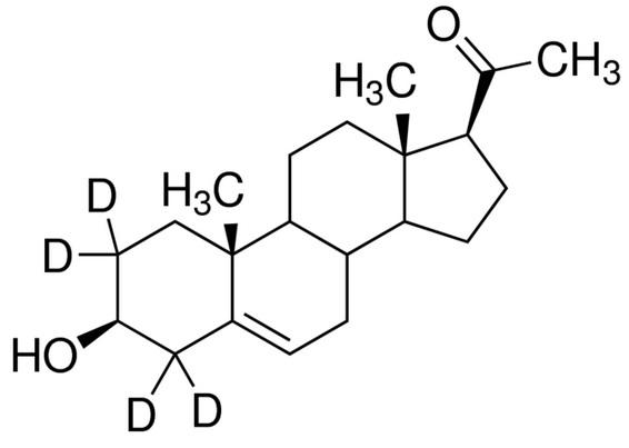 Pregnenolone-17α,21,21,21-d<sub>4</sub>