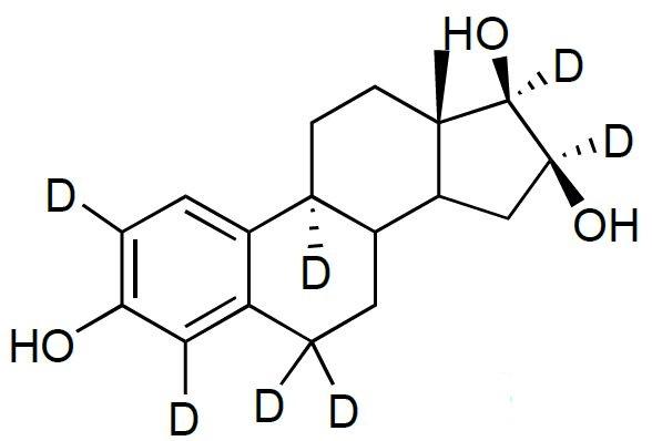 16-Epiestriol-2,4,6,6,9,16,17-d<sub>7</sub>