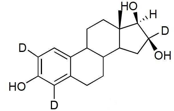 16-Epiestriol-2,4,16-d<sub>3</sub>