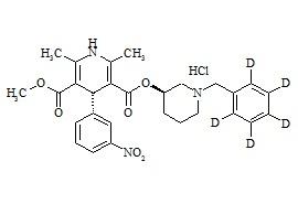 (-)-α-Benidipine-d5 HCl ((R,R)-Benidipine-d5 HCl)