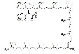 Coenzyme Q10-d<sub>5</sub>