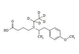 Mebeverine Acid-d5 HCl