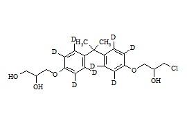 Bisphenol A impurity 4-d<sub>8</sub>