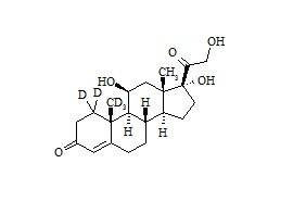 Cortisol-d<sub>5</sub>