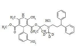 R-Lercanidipine-d3 HCl