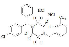 Meclizine-d8 dihydrochloride