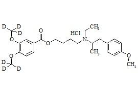 Mebeverine-d6 HCl
