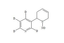 (R,S)-N-Nitrosoanatabine-d4