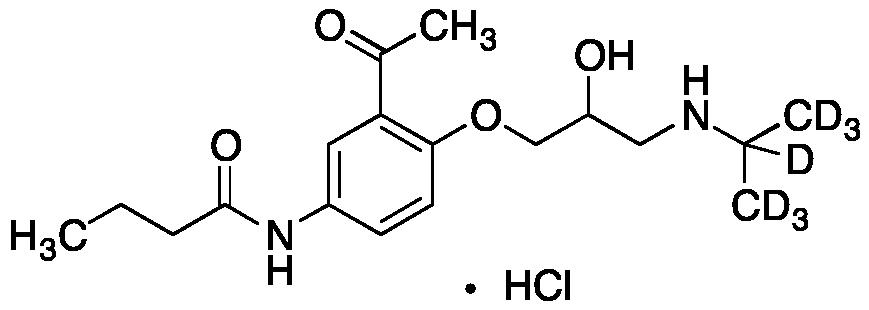 Acebutolol-d<sub>7</sub>