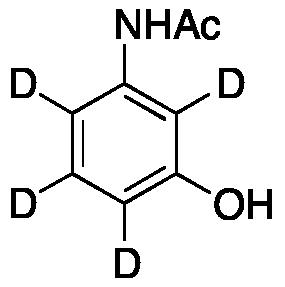 3-Acetamidophenol-d<sub>4</sub>