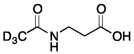 N-Acetyl- β-alanine-d<sub>3</sub>