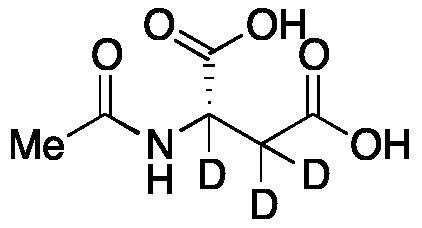 N-Acetyl-L-aspartic acid-2,3,3-d<sub>3</sub>