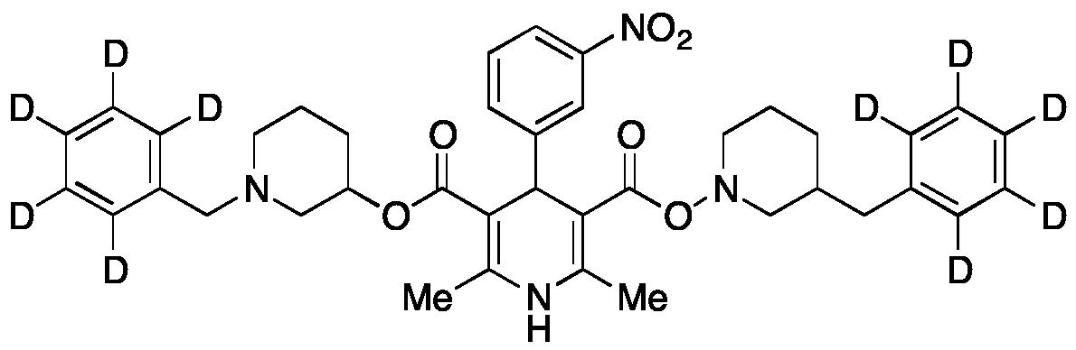 Benidipine 5-(1-Benzylpiperidin-3-yl)-d<sub>10</sub>