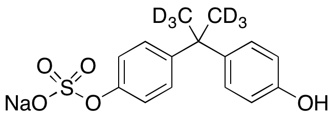 Bisphenol A Monosulfate Sodium Salt-d<sub>6</sub> (90%)