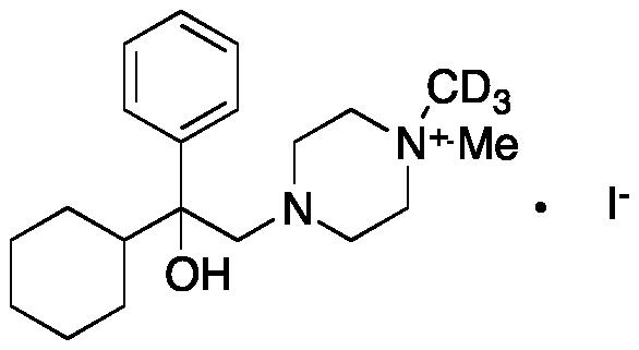 Hexocyclium Iodide-d<sub>3</sub>