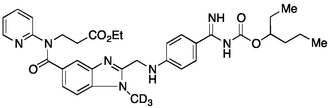 O-(3-Hexyl) Dabigatran-d<sub>3</sub> Ethyl Ester