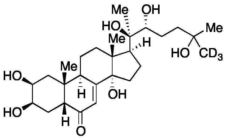 (+)-20-Hydroxyecdysone-d<sub>3</sub>
