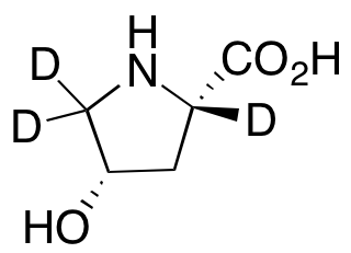 cis-4-Hydroxy-L-proline-d<sub>3</sub>