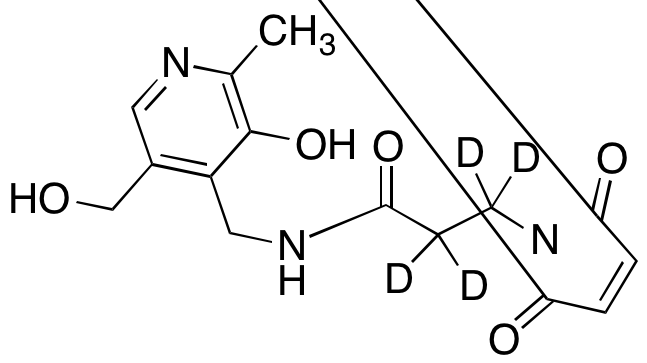 3-(N-Maleimido)propionate Pyridoxamine-d<sub>4</sub>