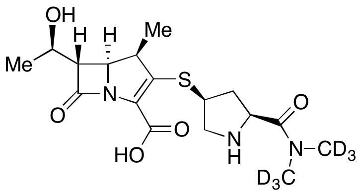 Meropenem-d<sub>6</sub>