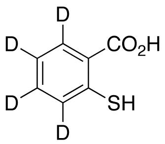 2-Mercaptobenzoic Acid-d<sub>4</sub>
