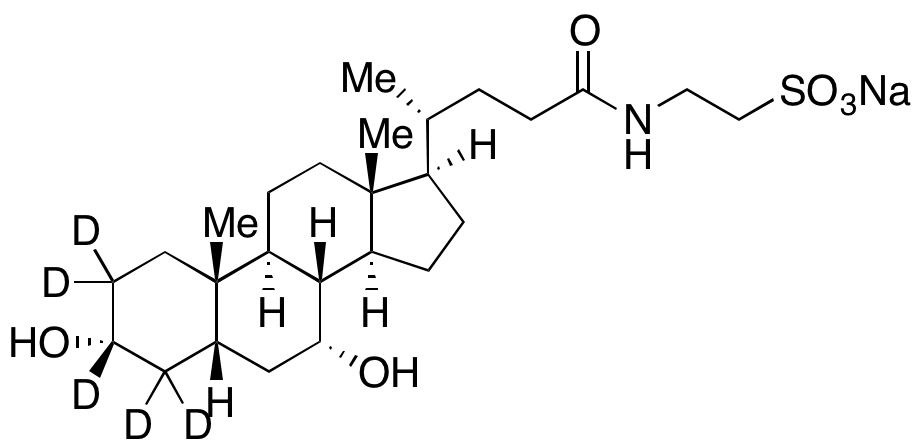 Taurochenodeoxycholic acid-d<sub>5</sub> sodium salt