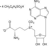 S-Adenosyl-L-methionine-d<sub>3</sub> tetra(p-toluenesulfonate) salt