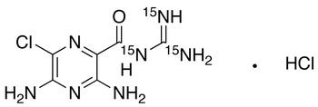 Amiloride-<sup>15</sup>N<sub>3</sub> HCl