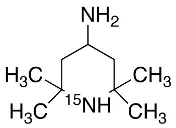 4-Amino-2,2,6,6-tetramethylpiperidine-1-<sup>15</sup>N
