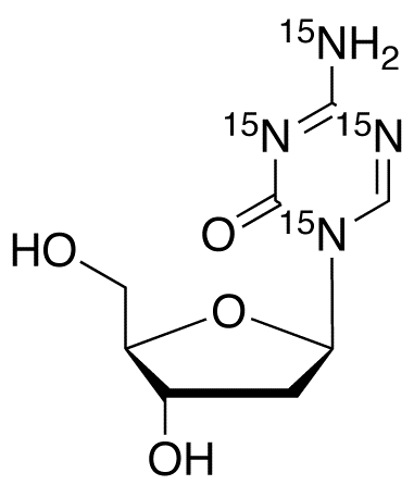 5-Aza-2&#146;-deoxy cytidine-<sup>15</sup>N<sub>4</sub>