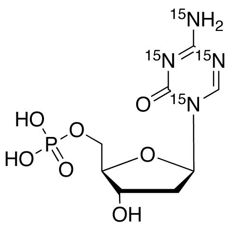 5-Aza-2&#146;-deoxy Cytidine-<sup>15</sup>N<sub>4</sub> 5&#146;-Monophosphate