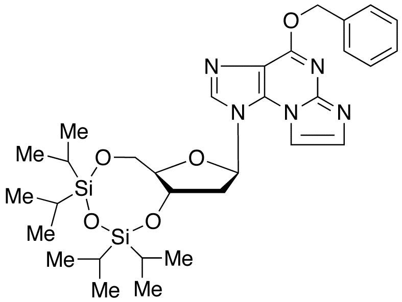 O6-Benzyl-N<sub>2</sub>,3-etheno-2'-deoxy-3',5'-O-[tetrakis(isopropyl)-1,3-disiloxanediyl] Guanosine