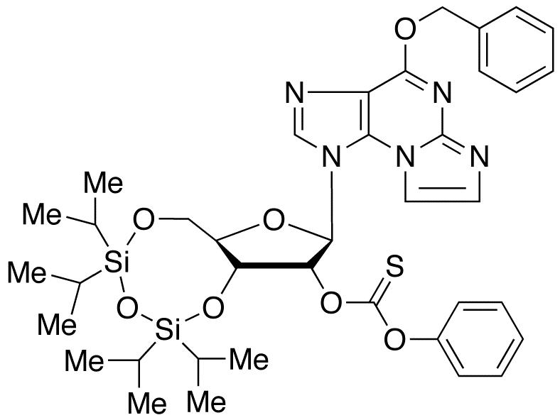 O6-Benzyl-N<sub>2</sub>,3-etheno-2&#146;-phenoxythioxomethyl-3&#146;,5&#146;-O-[tetrakis(isopropyl)-1,3-disiloxanediyl] Guanosine