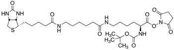 N2-t-Boc-N<sub>6</sub>-(biotinamido-6-N-caproylamido)lysine N-Hydroxysuccinimide Ester