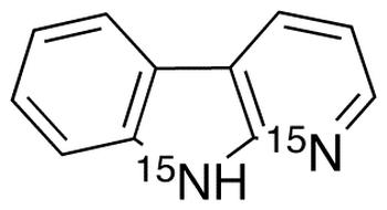 &#945;-Carboline-<sup>15</sup>N<sub>2</sub>