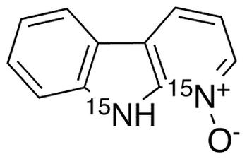 α-Carboline-<sup>15</sup>N<sub>2</sub> N-Oxide
