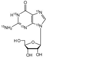 Guanosine-<sup>15</sup>N<sub>5</sub>