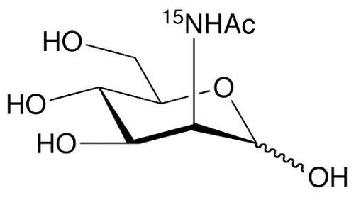 N-Acetyl-D-mannosamine-<sup>15</sup>N