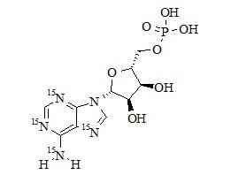 Adenosine monophosphate <sup>15</sup>N<sub>4</sub>