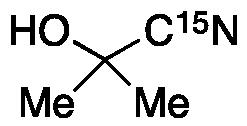 Acetone cyanohydrin-<sup>15</sup>N