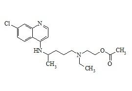 Hydroxychloroquine O-Acetate