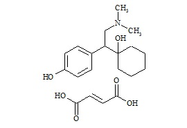 Desvenlafaxine (O-Desmethyl Venlafaxine) Fumarate