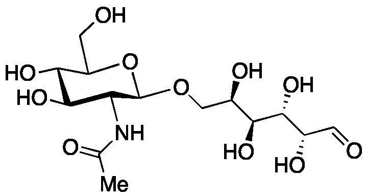 6-O-(2-Acetamido-2-deoxy-β-D-glucopyranosyl)-D-galactopyranose
