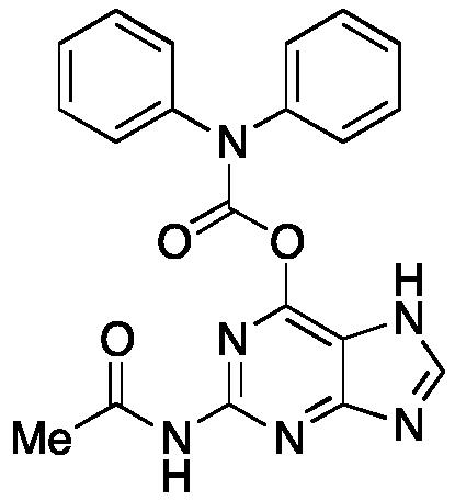 N2-Acetyl-O<sub>6</sub>-diphenylcarbamoylguanine