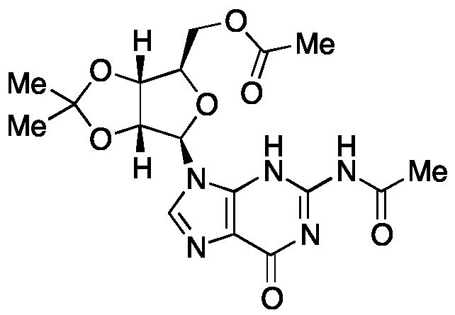 N-Acetyl-2',3'-O-isopropylidene-guanosine 5'-acetate