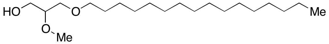 1-O-Hexadecyl-2-O-methylglycerol