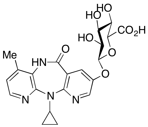 8-Hydroxy Nevirapine 8-O- β-D-Glucuronide